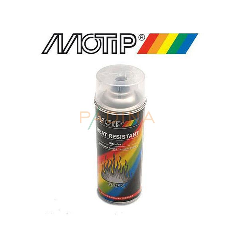 Heat resistant lacquer silver