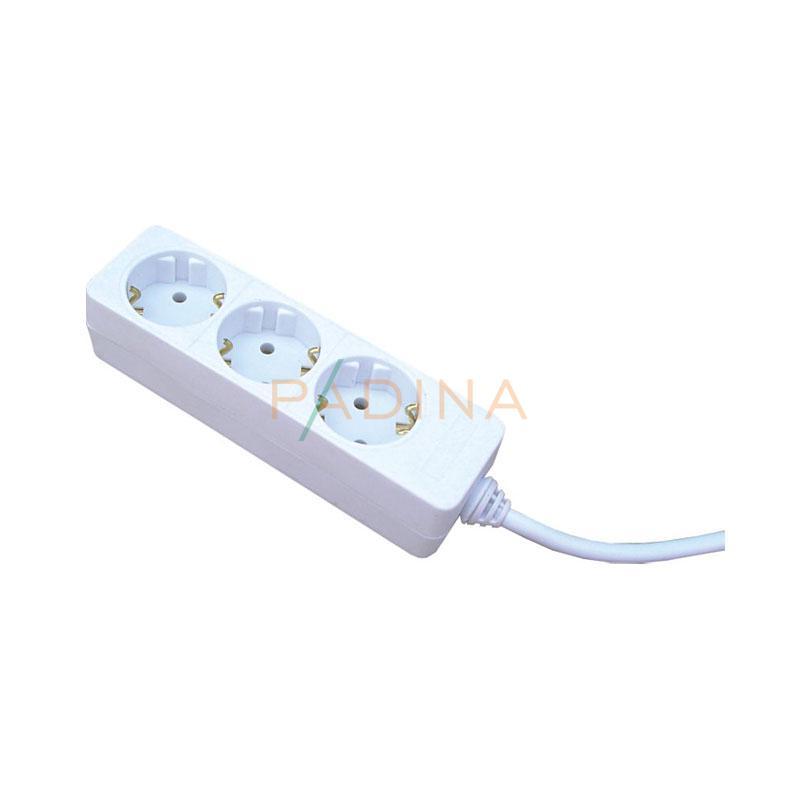 Kabel produžni 3-struki l 1,4 m Commel